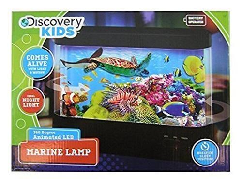 discovery kids lámpara marina - 12.75  l x 9  h