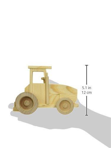 Discovery Kids Pinta Tu Propio Juego De Tractor De Madera