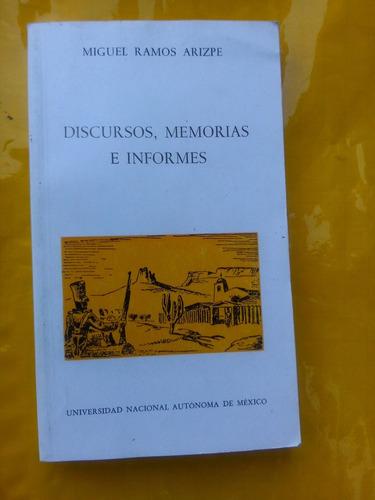 discursos memorias e informes miguel ramos arizpe