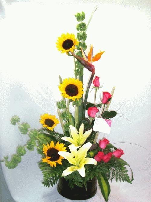 Diselo Con Flores Arreglos Florales Rosas Girasoles
