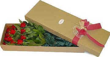 diselo con rosas caja flores + chocolates16 + envio + regalo