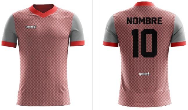 Diseña Tu Camiseta De Futbol Con Numero Y Nombre Yakka -   720 3315ba52b8102