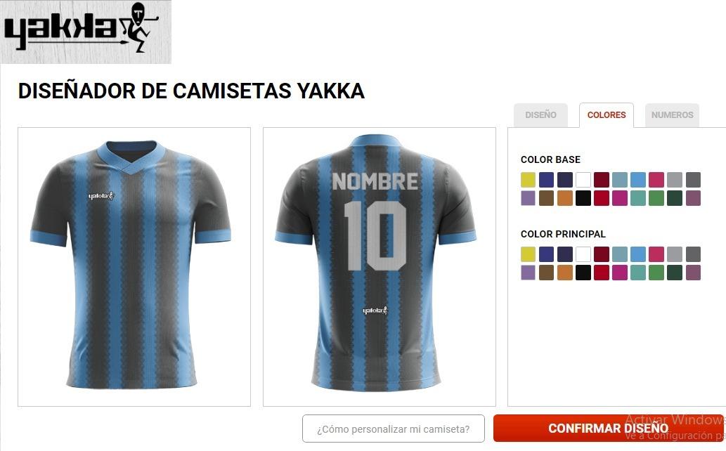 diseña tu camiseta de voley yakka. Cargando zoom. b93c66a244eb9