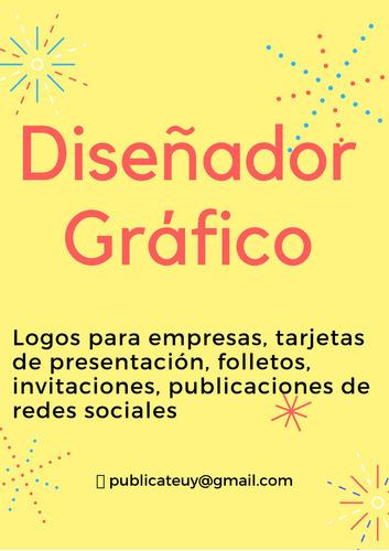 diseñador gráfico: logos, folletos, tarjetas de presentación