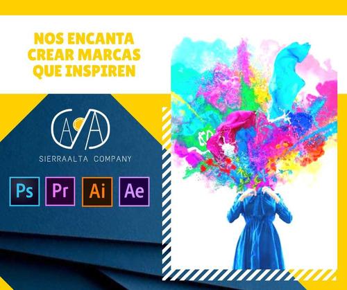 diseñador gráfico, logos+ perfil logotipó, retoque imagen+