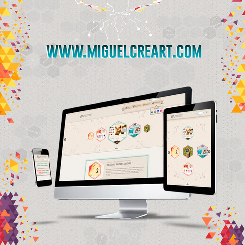 diseñador gráfico y web profesional freelance miguelcreart