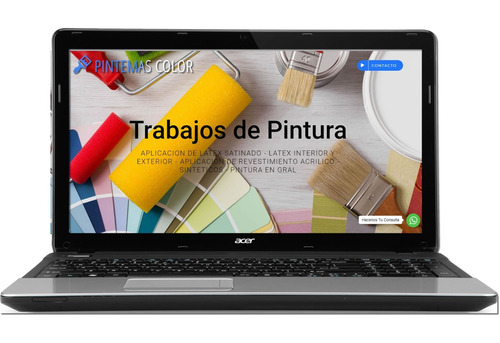 diseñador web. pagina web 48hs. wordpress auto administrable