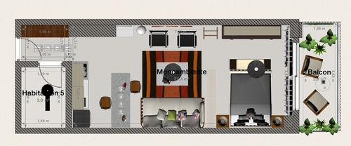 diseñadora de interiores online-promo 2 ambientes de julio
