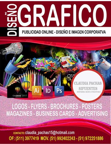 diseñadora de letreros de gráficos y publicidad en general