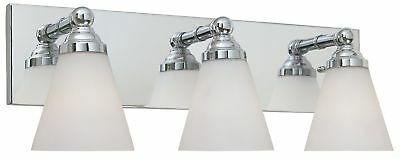 diseñadores fountain hudson chrome baño / tocador / aplique