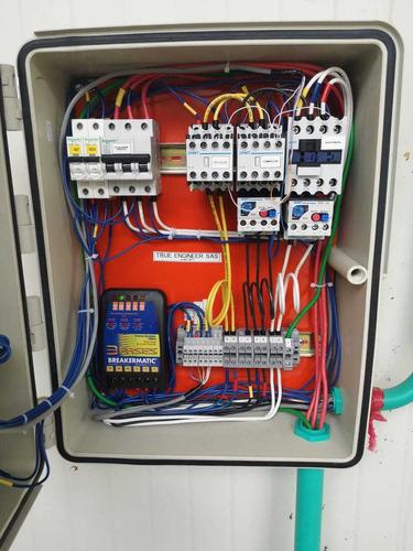 diseñamos tablero de control para cuartos fríos