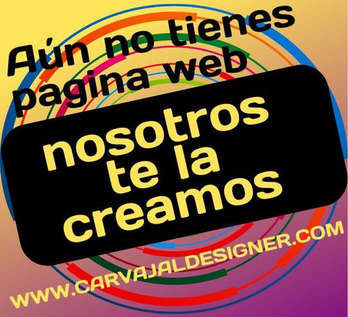 diseñamos tu pagina web e integracion con redes sociales