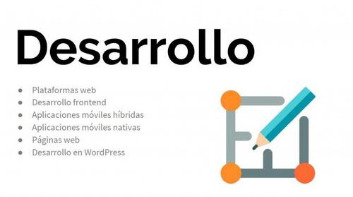 diseñamos y desarrollamos páginas web... a cuotas!
