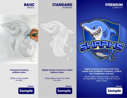 diseñar mascotas para proyectos o logos