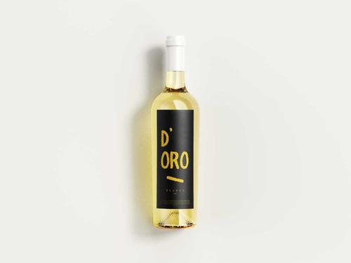 diseñaré una etiqueta de vino profesional y elegante.