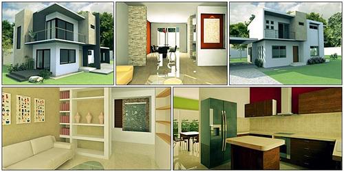 diseño arquitectónico, planos de casas y departamentos