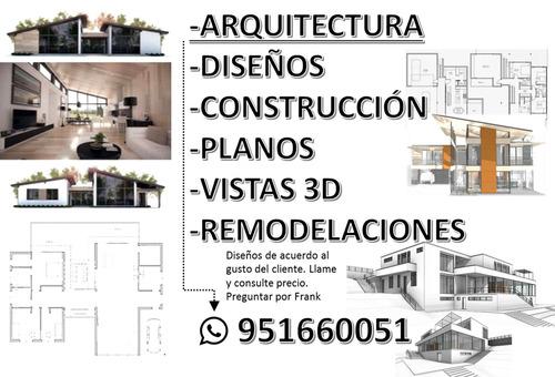 diseño, arquitectura y construcción