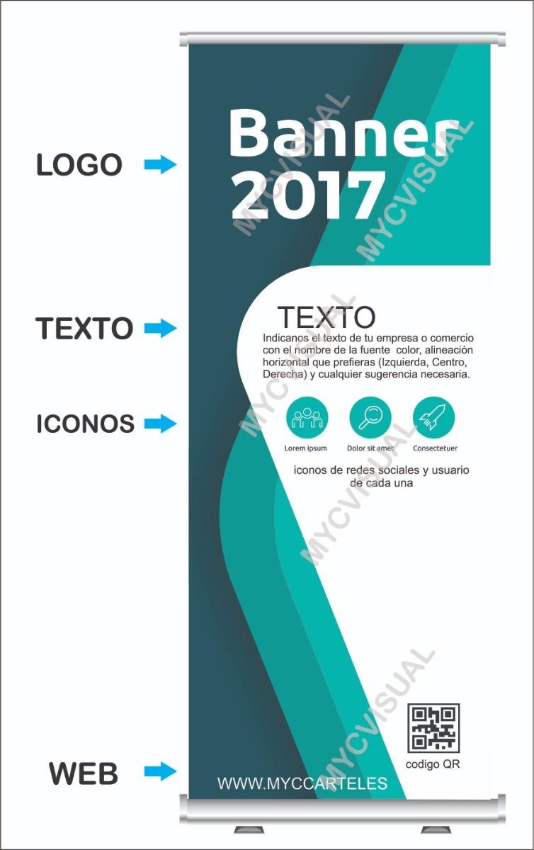 Diseño Basico Para Banners Publicitarios 190 X 090