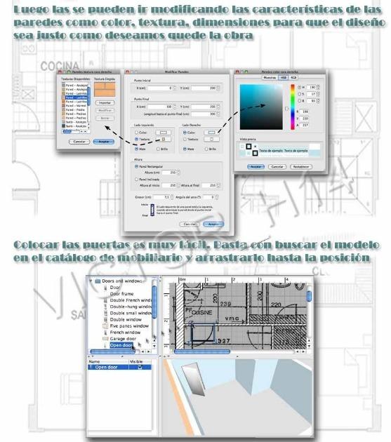 Dise o casas 2d 3d crear interiores de hogar en espa ol for App diseno casas