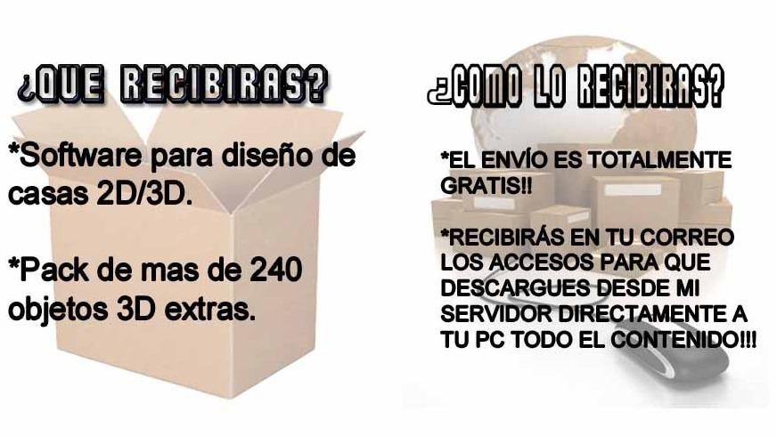 Dise o casas 2d 3d crear interiores de hogar en espa ol for Programas de diseno de interiores 3d gratis en espanol
