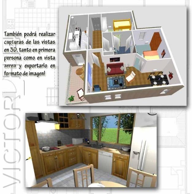 dise o casas 2d 3d crear interiores de hogar en espa ol