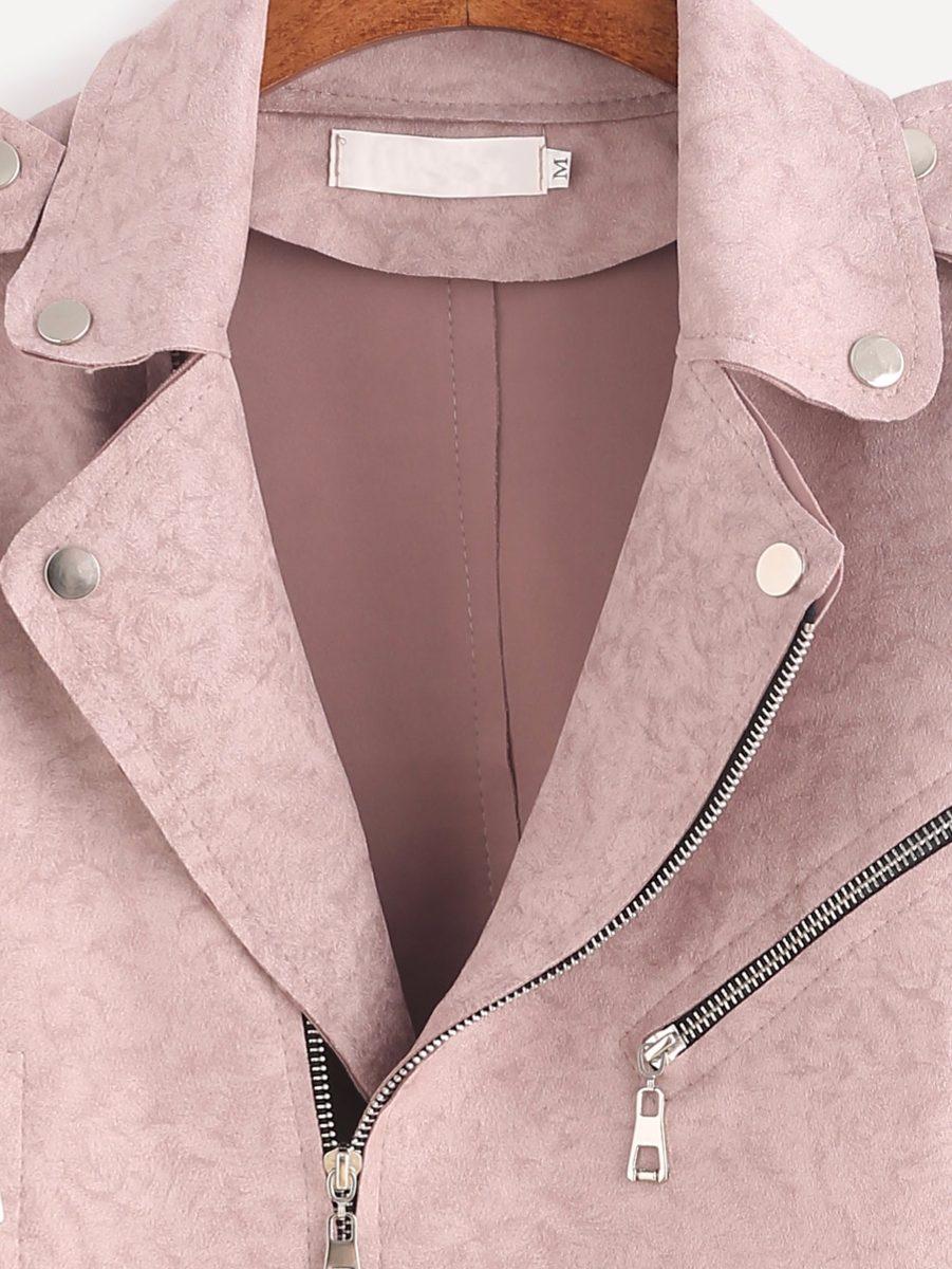 Pu Abrigo Mujer Rosa Campera Chaqueta Diseño Pastel Cuero EwqFFR fbb8fa5e3060