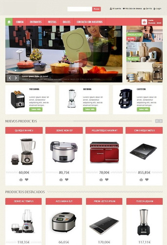 diseño creación de tienda online pagina web personalizada