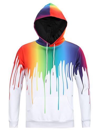 diseño creativo goteo paint 3d impresión jersey capucha co