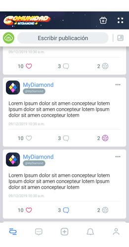 diseño de aplicación