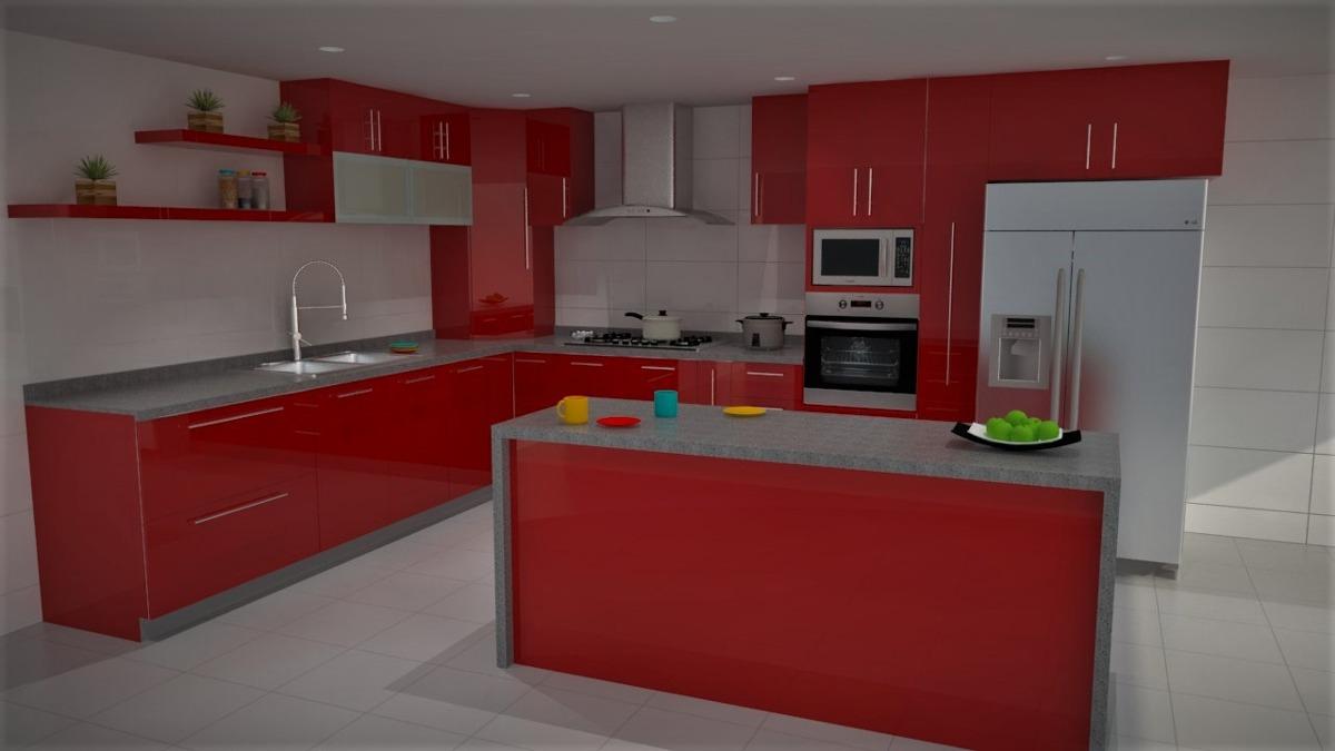 Dise o de cocinas 3d y render pachuca cdmx tecamac for Diseno cocinas 3d gratis espanol