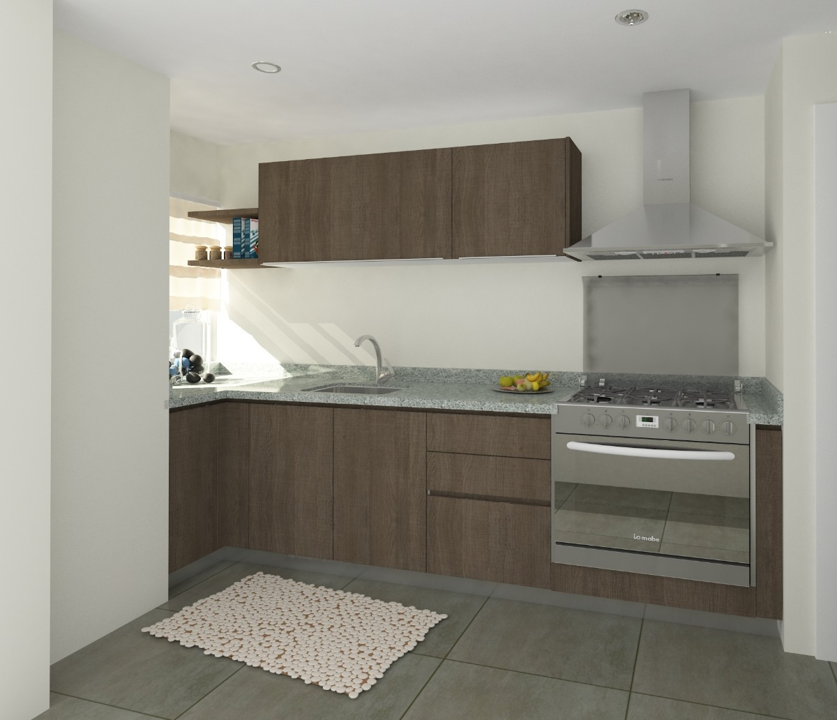 Excepcional Cocina A Medida Diseño Stroud Bosquejo - Ideas de ...