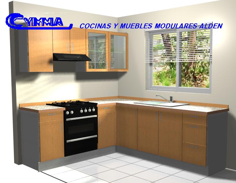 Dise o de cocinas por computadora en 3d y foto realista - Disenos de cocinas en l ...