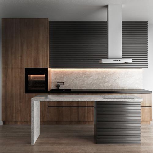 diseño de cocinas profesionales 3d - renders de cocinas