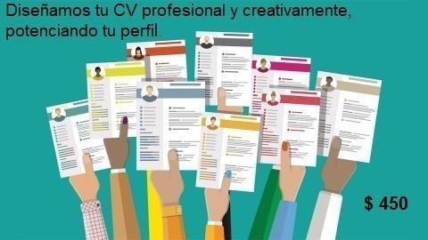 diseño de  cv profesional y creativo