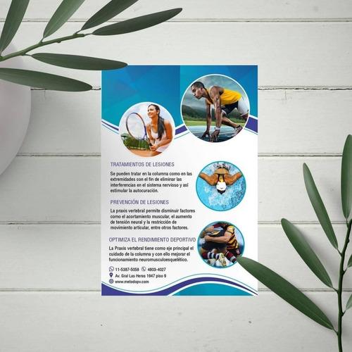 diseño de folletos +flyers