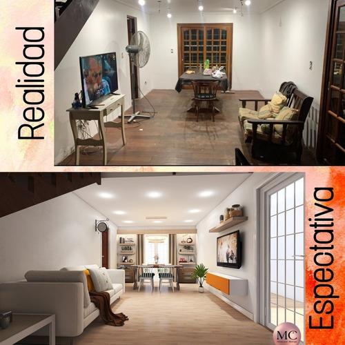 diseño de interiores / render 3d / plano autocad