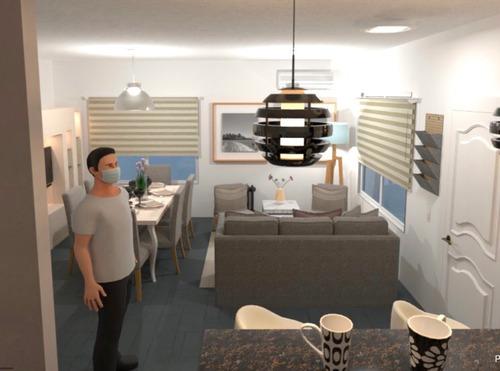 diseño de interiores residencial- promo entre 30m2 y 50m2