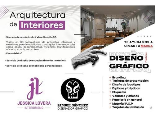 diseño de interiores y diseño gráfico