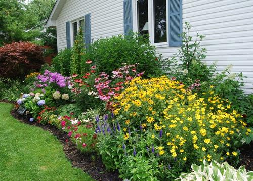 diseño de jardines estilo  cottage garden