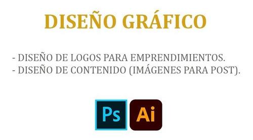 diseño de logos y contenido para redes