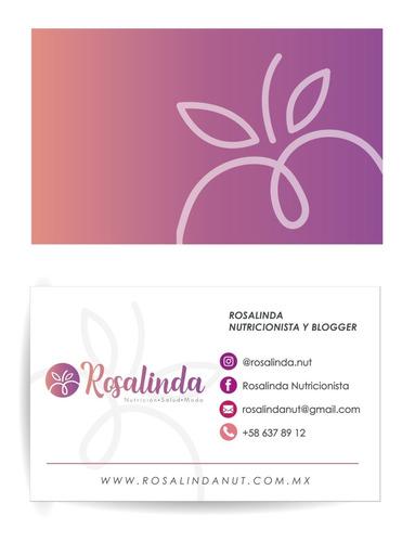diseño de logotipo, tarjeta de presentación, rrss y más!
