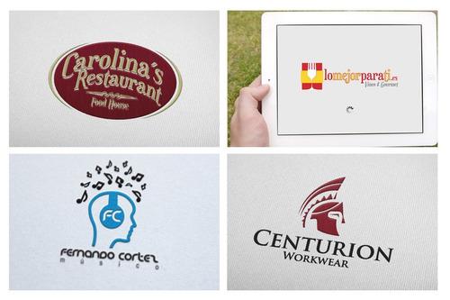 diseño de logotipos, manejo de redes sociales