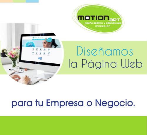 diseño de logotipos y diseño de páginas web.