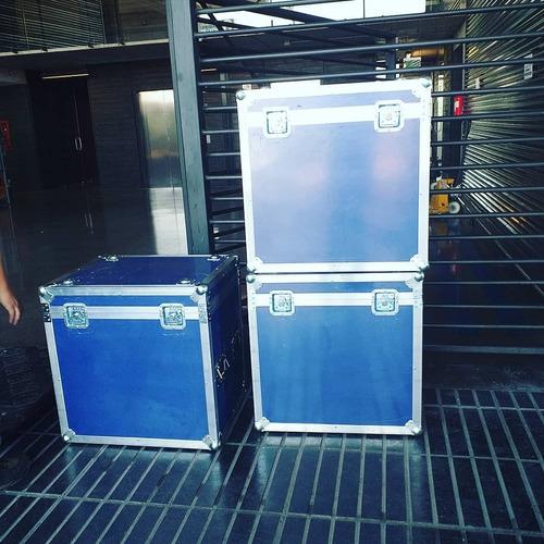 diseño de maletas, maletines, racks, mobiliario, dj set