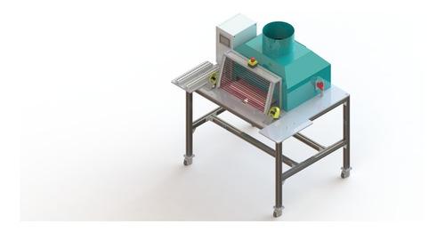 diseño de maquinaria/piezas/fixturas en 3d solidworks