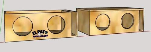 diseño de medidas para cajones acústicos ha medida