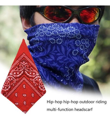 diseño de moda al aire libre hip hop bandana headwear diadem
