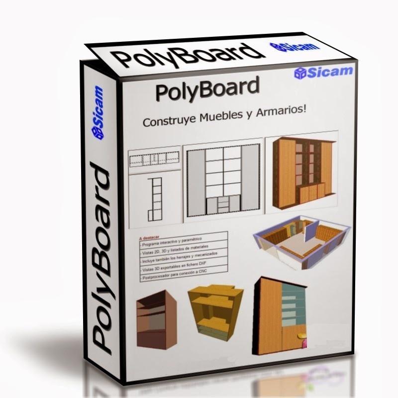diseño de muebles sin limites polyboard v6.01 ultima version ... - Programas Diseno Muebles