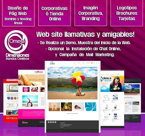 diseño de pag web | logos | imágenes redes sociales