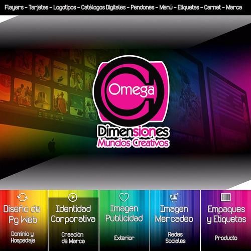 diseño de pag web | logotipos | catálogo digital